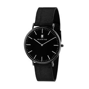 Čierne pánske hodinky Black Oak Steel