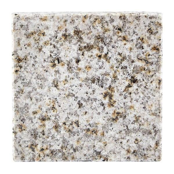 Biela žulová podložka pod pohár Galzone