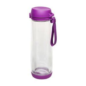 Sklenená fľaša Aladdin 530 ml, fialová