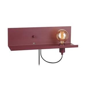 Červené nástenné svietidlo s USB nabíjací stanicou Markslöjd Multi