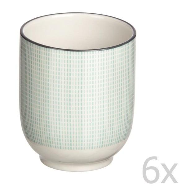 Sada 6 pohárov Pam-Pam Aqua
