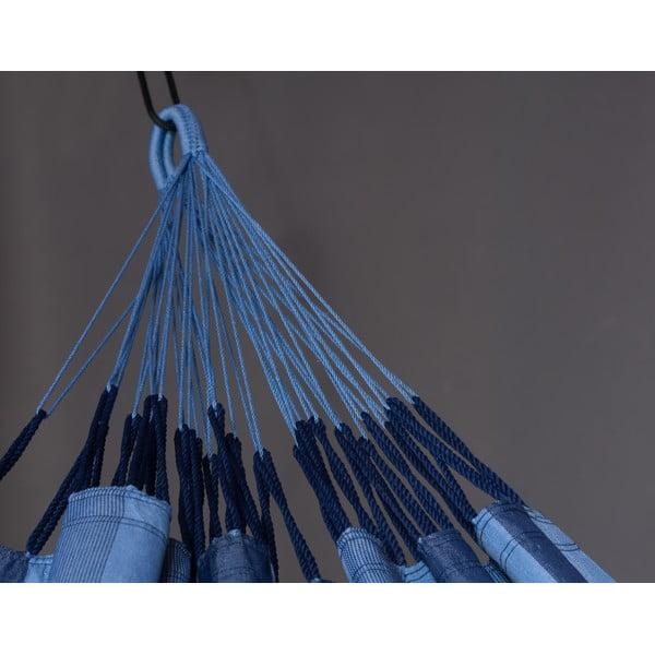 Hojdacia sieť Aventura až pre dvoch, modrá