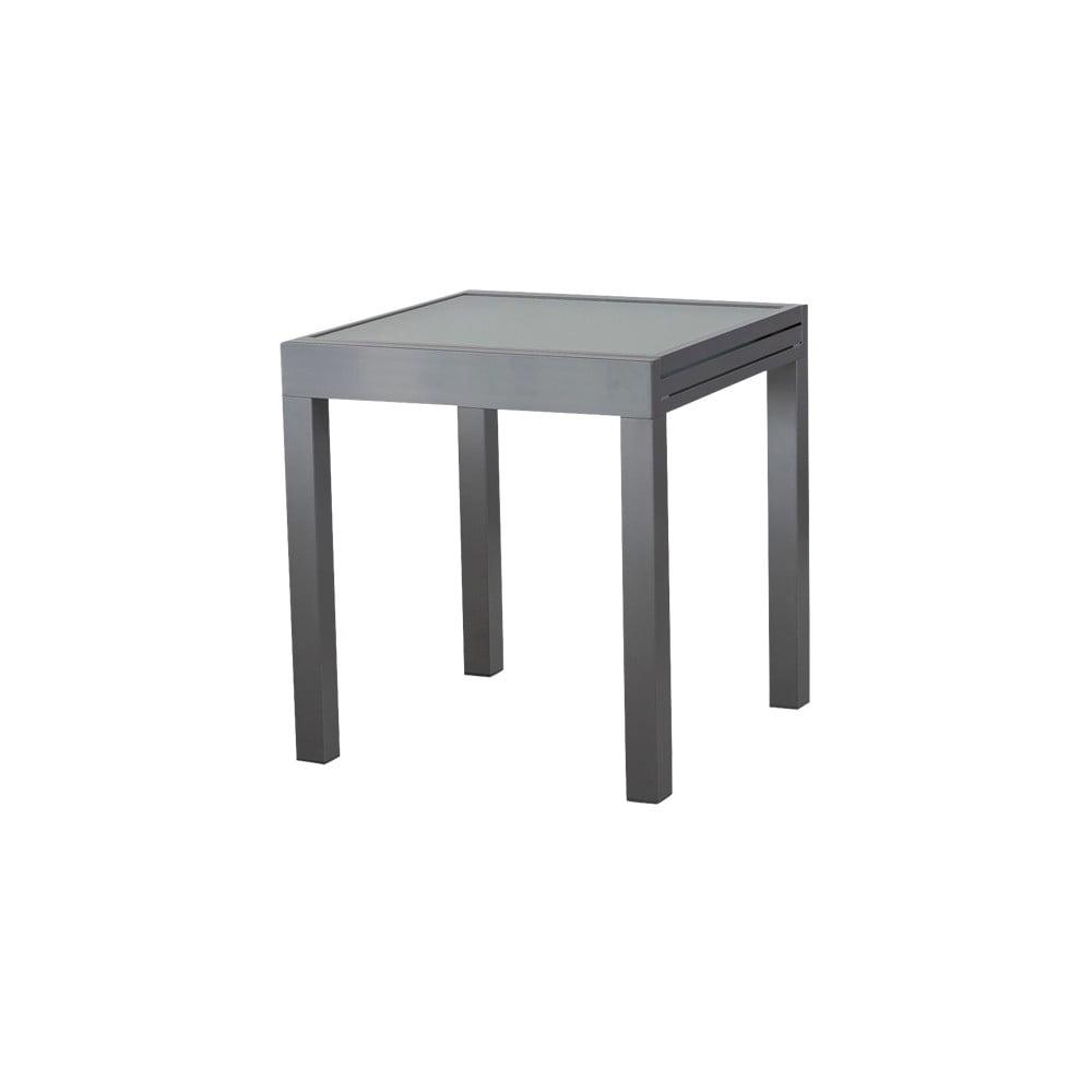 Sivý záhradný jedálenský rozkladací stôl Ezeis Vegetal