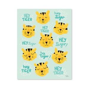 Plagát Michelle Carlslund Hey Tiger, 50x70cm