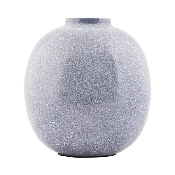 Modrá váza House Doctor Blue Effect,14cm