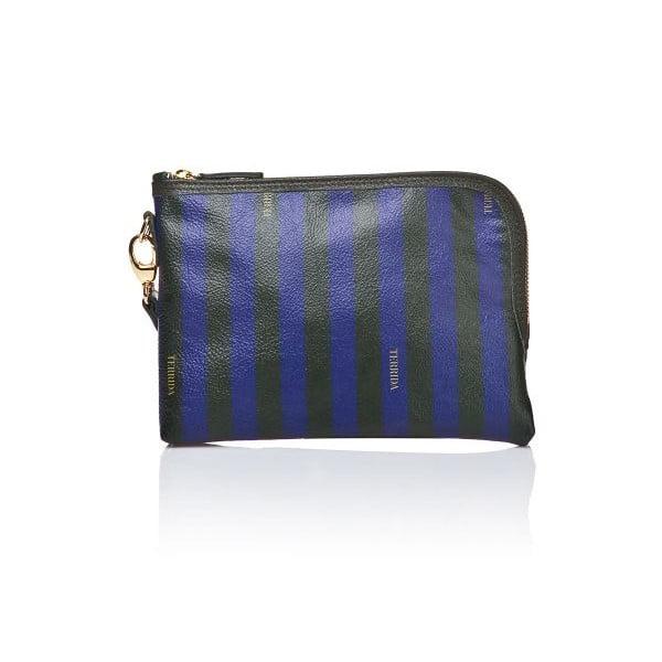 Listová kabelka Felix Blue/Dark Green