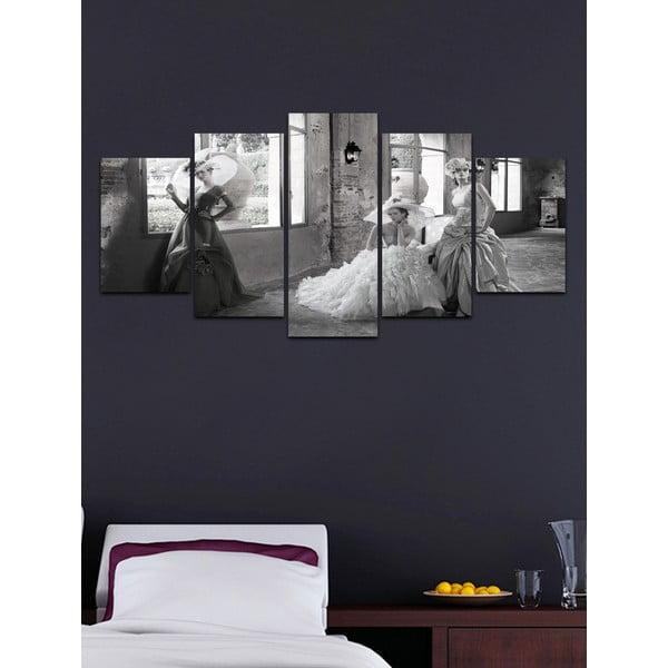 Viacdielny obraz Black&White no. 63, 100x50 cm