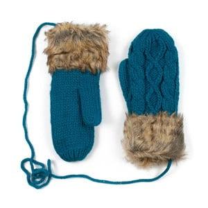 Modré rukavice Dolores