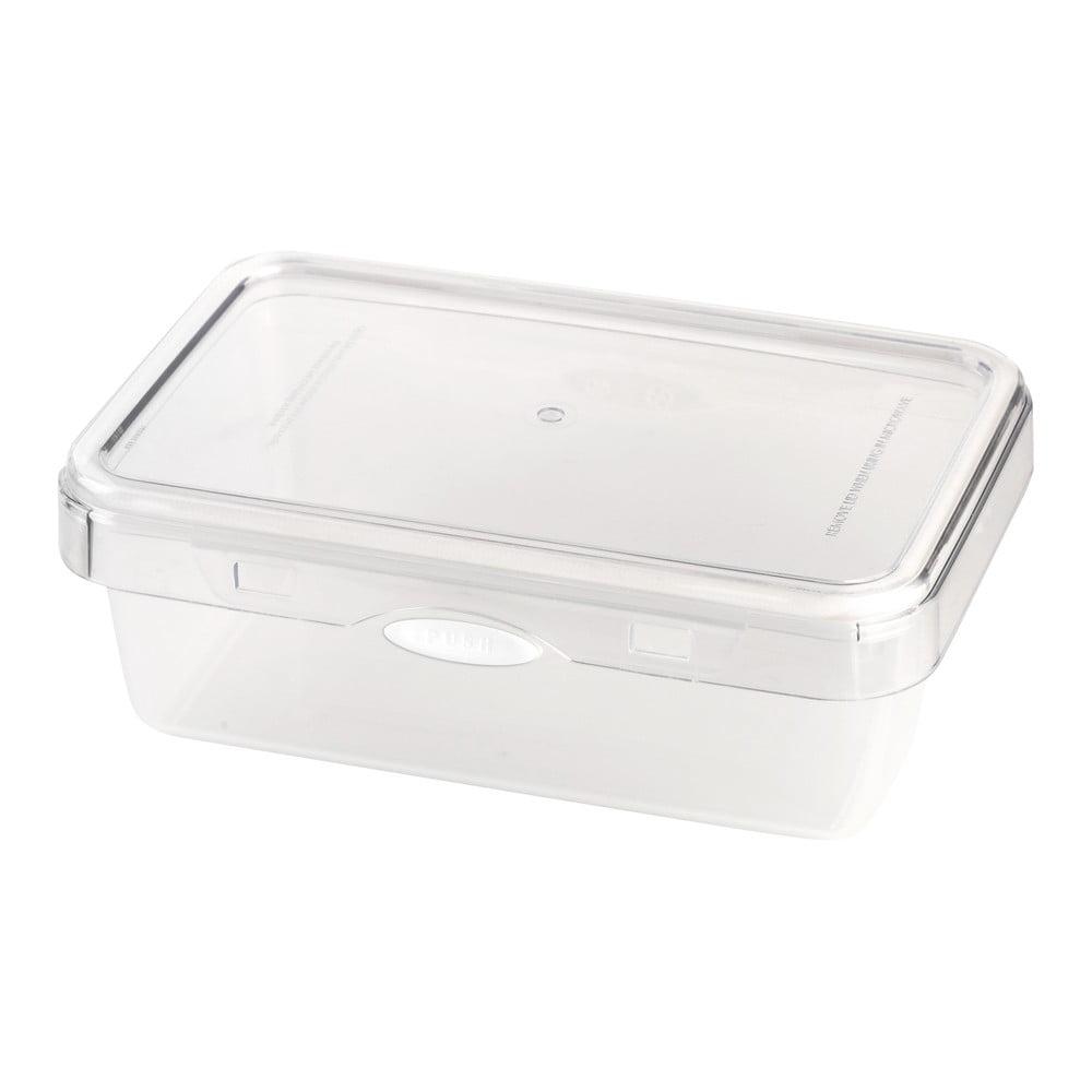 Biela dóza na potraviny Vialli Design, 1100 ml