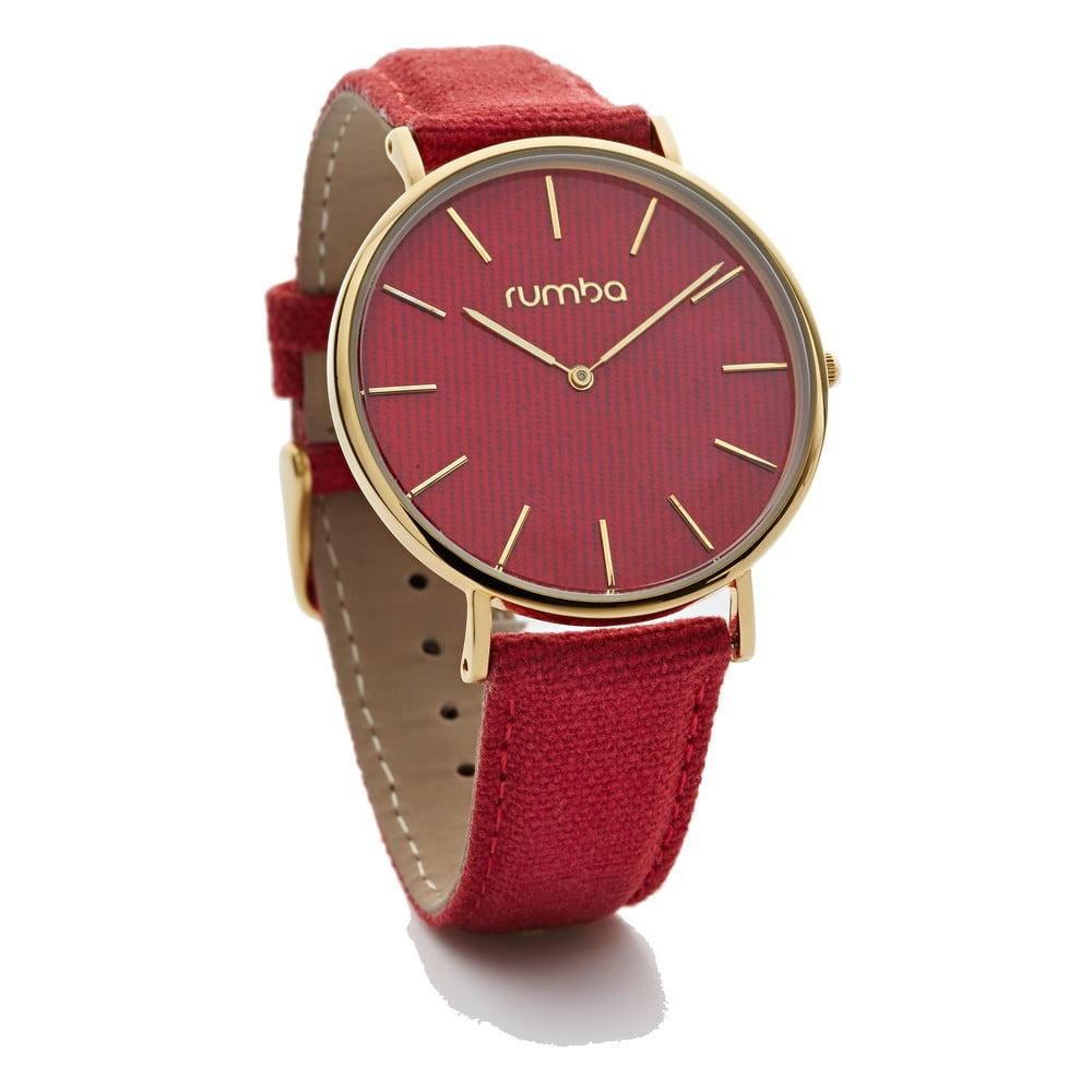 Dámske červené hodinky Rumbatime Soho Denim b8b63b8a3e