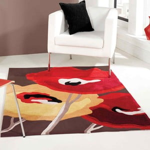 Koberec Flair Rugs Poppy Flowers, 80 x 150 cm
