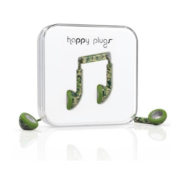 Slúchadlá Happy Plugs Camouflage