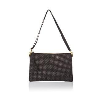Čierna kožená kabelka Markese Hurton