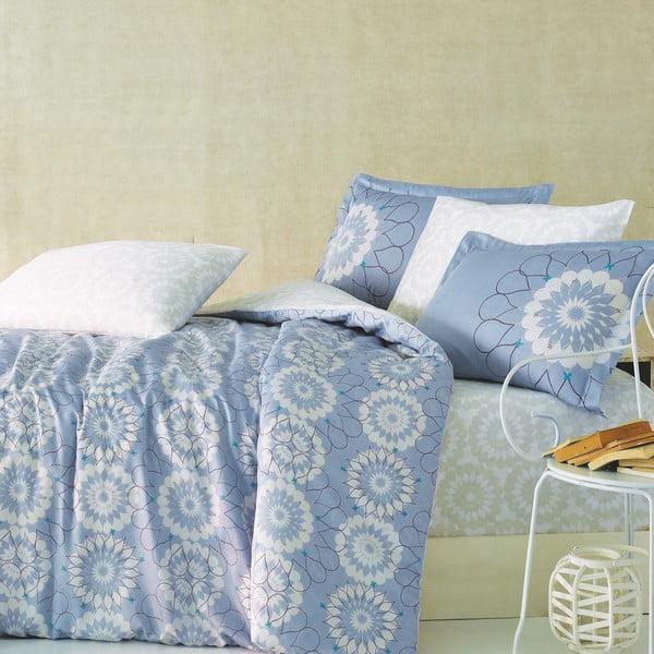 Obliečky s plachtou Marie Claire Bleu Maison, 200x220 cm