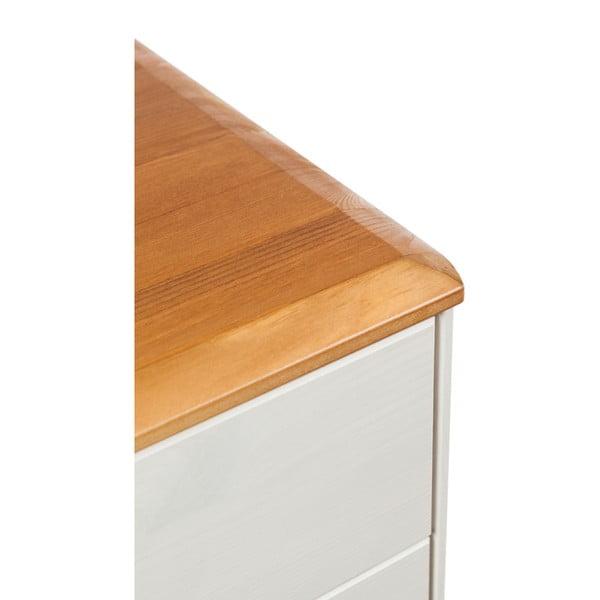 Nočný stolík z borovicového dreva Askala Maru