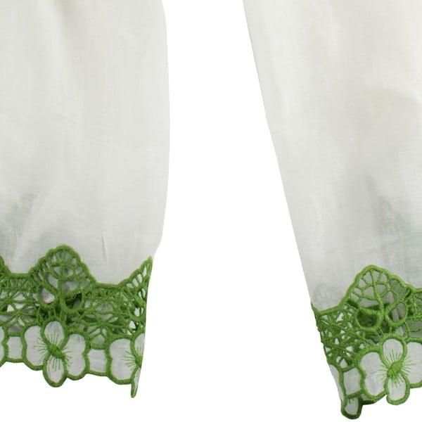 Šatka s prímesou hodvábu Shirin Sehan Florentine Lime
