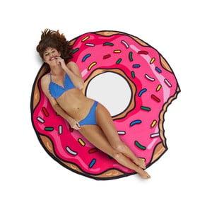 Plážová deka v tvare donutu Big Mouth Inc., Ø 150 cm