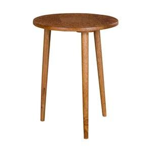 Odkladací stolík z mangového dreva House Nordic Makalu