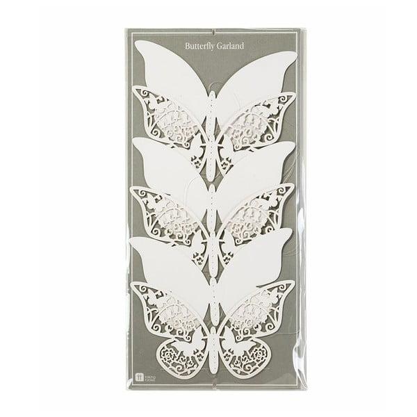 Papierová girlanda Butterfly, 2 m