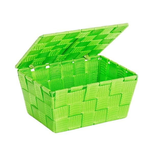 Zelený košík s vekom Wenko Adria