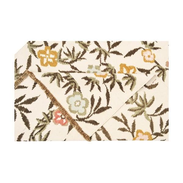 Vlnený koberec Kilim Flowers 176, 160x230 cm
