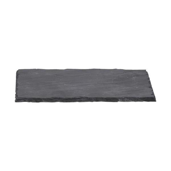 Bridlicová tácka Sola Flow, 26x16cm