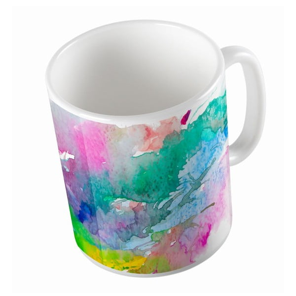 Keramický hrnček Water Colour, 330 ml