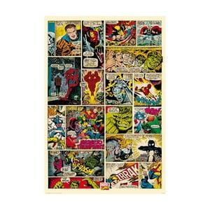 Veľkoformátová tapeta Avengers Marvel Komiks, 158x232 cm