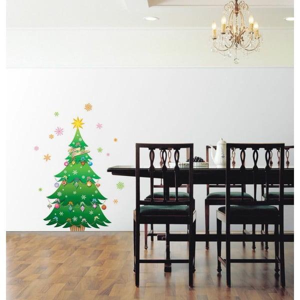 Vianočná samolepka Fanastick Christmas Tree and Stars