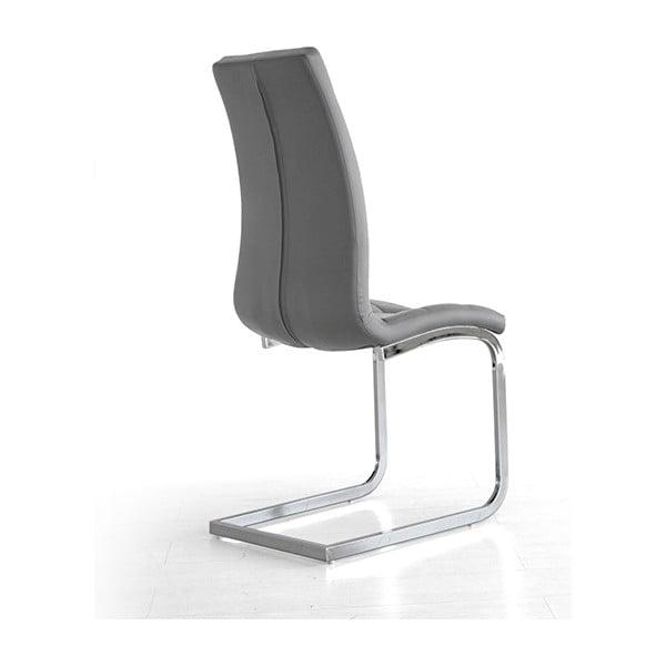 Sivá jedálenská stolička Sohl
