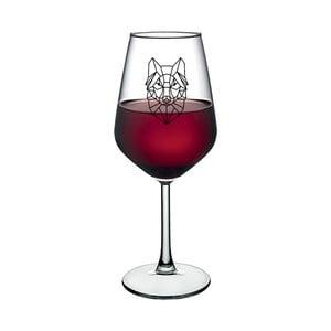 Pohár na víno Vivas Lion Design, 345 ml