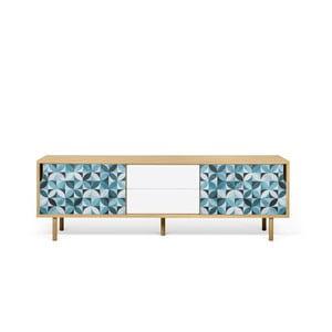 TV stolík z dubového dreva TemaHome Dann Morocco