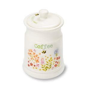 Dóza na kávu z kameniny Cooksmart England Flowers