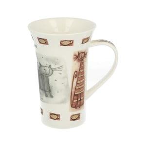 Porcelánový hrnček s motívom mačky Duo Gift, 500 ml