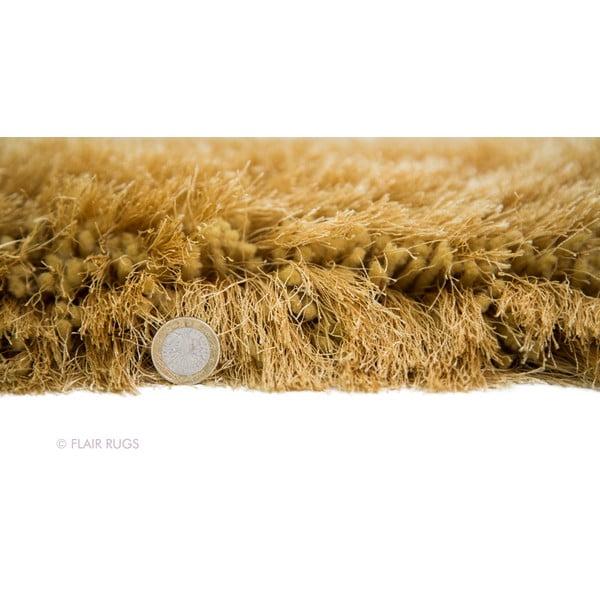 Koberec Pearl 150 cm, hořčicový