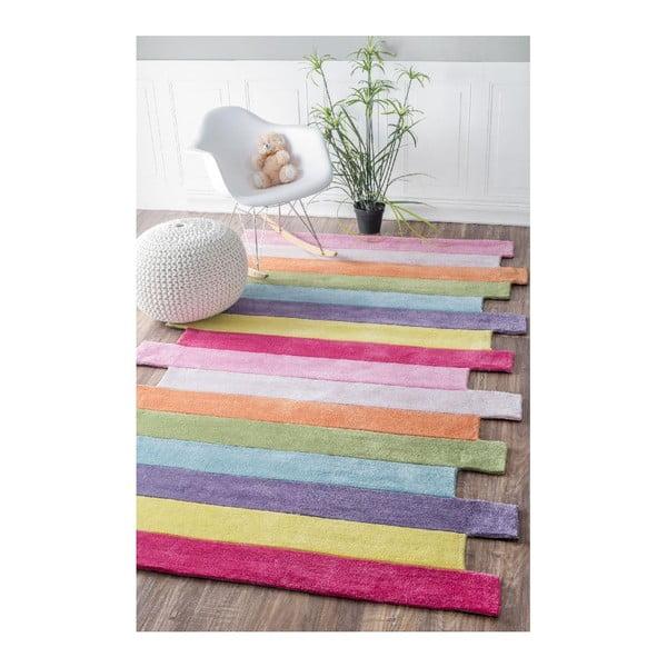 Ručne tuftovaný koberec nuLOOM Pantone Multi, 122 x 183 cm