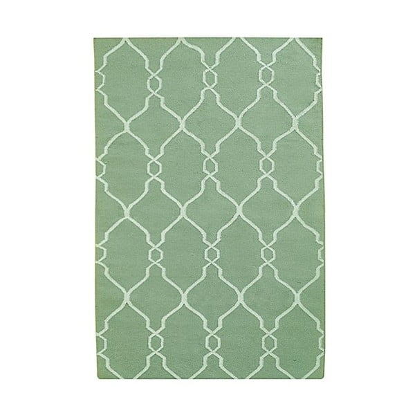 Ručne tkaný koberec Kilim JP 11058 Green, 90x150 cm