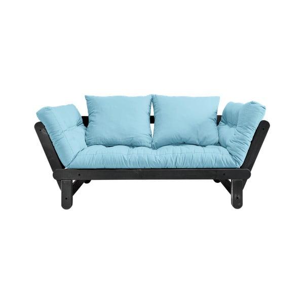 Rozkladacia pohovka Karup Design Beat Black/Light Blue