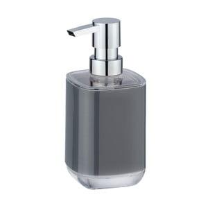 Sivý dávkovač na mýdlo Wenko Masone