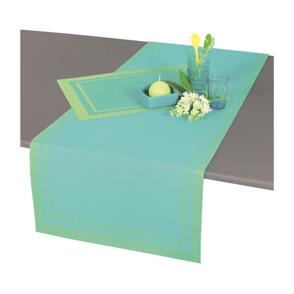 Behúň na stôl Blue Antic, 140x46 cm