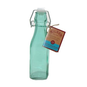 Fľaša s klipom Kilner, 250 ml, modrá