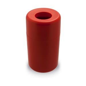 Červený odpadkový kôš Qualy&CO Capsule