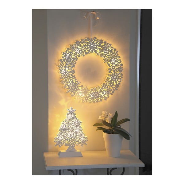 Svietiaca LED dekorácia Best Season Snowflake Rondo