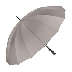 Sivý dáždnik s rúčkou Von Lilienfeld Cleo XXL