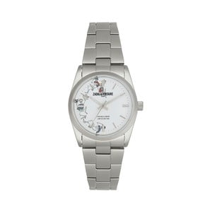 Dámske hodinky striebornej farby Zadig & Voltaire Planet