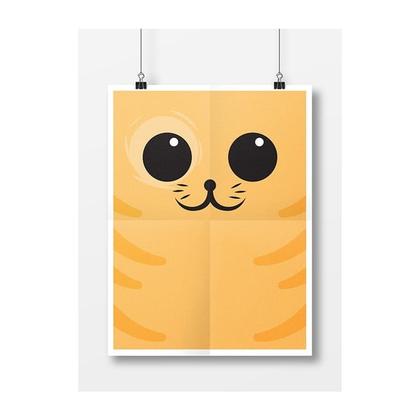 Plagát Mačička Ryšavá, A3