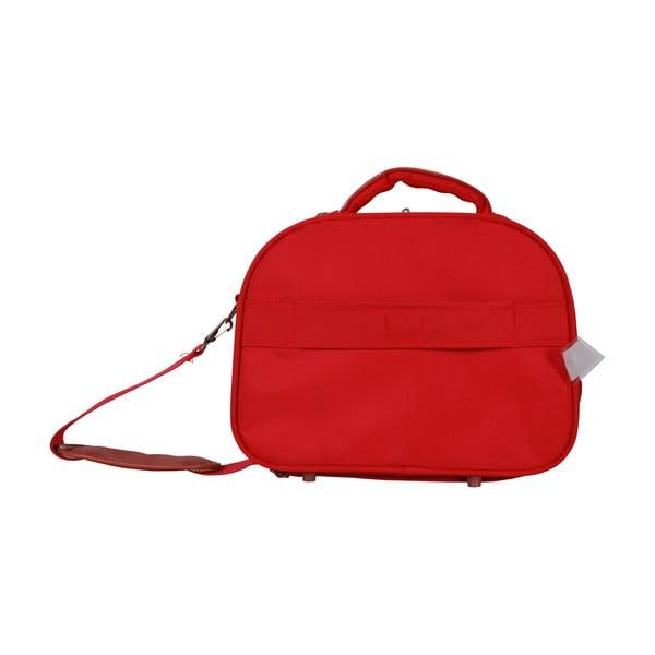 Príručná taška Jean Louis Scherrer Red, 13.2 l