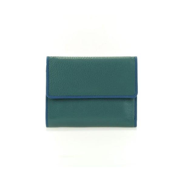 Peňaženka Flapover Blue/Green
