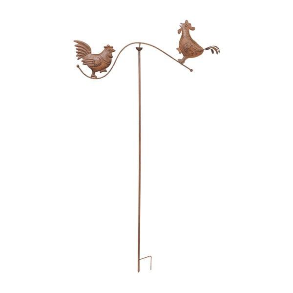 Zapichovacia dekorácia na záhradu Rooster, 139 cm