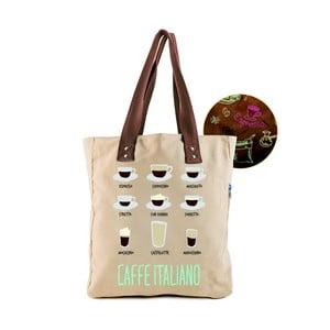 Plátenná taška Caffe